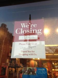Barnes & Noble Closing