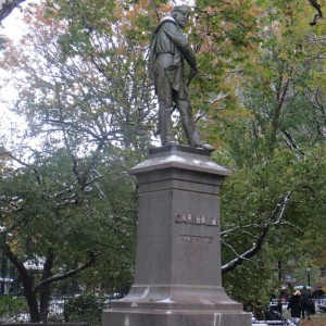 Blog Calendar of Posts | Garibaldi Statue