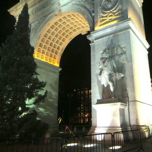 Washington Square Tree Lighting Ceremony Tonight Wednesday, December 5th | First Tree in 1924 was Planted in Park — Bring Back Tradition?
