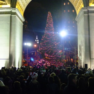 More Photos * Washington Square Tree Lighting
