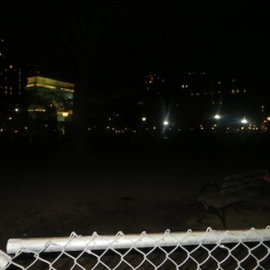 No Lighting Persists in Washington Square Dog Run At Night Due to Phase III Construction with No Resolution in Sight