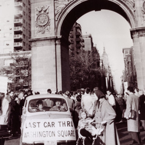 Last Car Through Washington Square