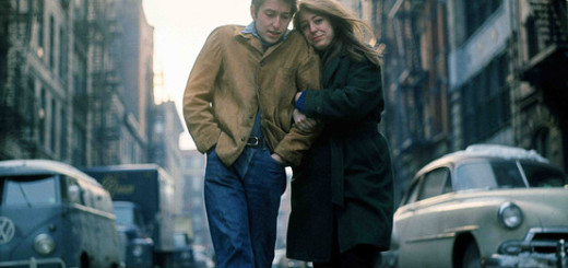 "Album cover ""The Freewheelin' Bob Dylan"""