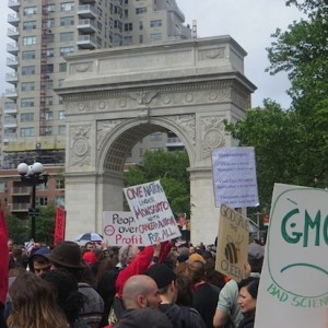 March Against Monsanto, Washington Square