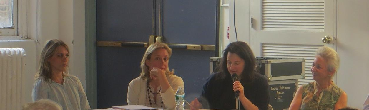"Justine Leguizamo, Victoria Bulgari, Gwen Evans, Elizabeth Ely - ""founding members"" WSP Conservancy"
