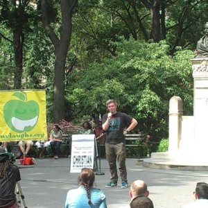 Weekend Washington Square: Laughter in the Park, Fountain, Jazz, Pigeon Appreciation & More