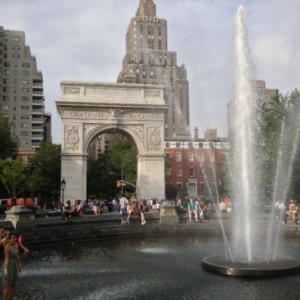 To Cool You Off: The Fountain At Washington Square!