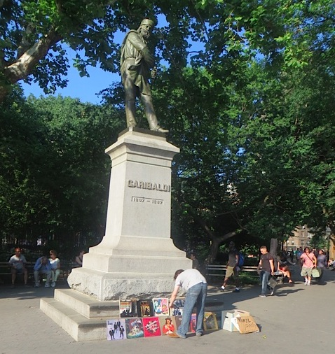 Album Sales, Garibaldi (New Usage for Garibaldi Statue)