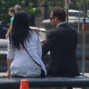 """Elementary,"" CBS Television Show, Shoots All Over WSP with Lucy Liu and Jonny Lee Miller Yesterday"