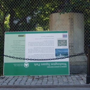 Report-back Community Board 2 Vote On Washington Sq Park Conservancy (Part I)