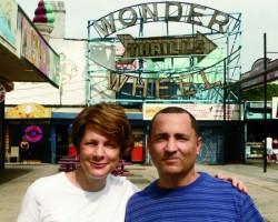 Amy Nicholson, Director, With Eddie Miranda