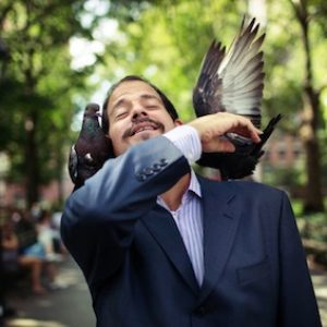 Washington Square Regulars: William MacLeod & Park Pigeons in New York Times
