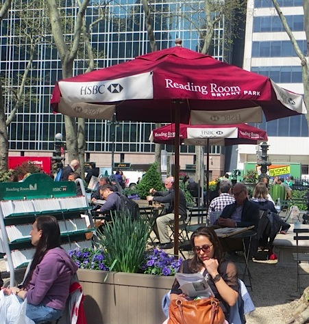 "HSBC ""Reading Room,"" Bryant Park"