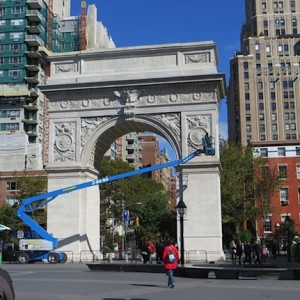 """Washington (Square) Arch Wraps Up Annual Inspection 