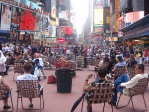 Bloomberg's Times Square 2009