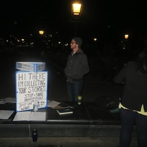 The Strangers Project Collects Your Stories at Washington Square Park