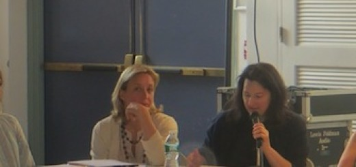 """Conservancy """"founders"""" appearing before Community Board Parks Committee June 2013"""