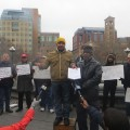 """Owner of """"Hot Dog Carts"""" Soon to be Eliminated at Wash Square Speaks at Rally"""