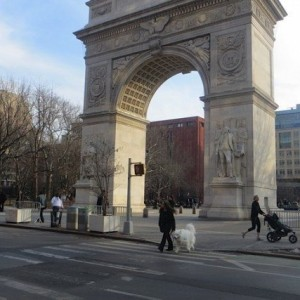The Arch, Washington Square, Almost Spring