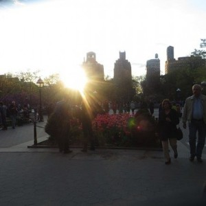 Scene: Washington Square Park in May (Photos)