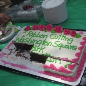 cake_at_ribbon_cutting_phase_III_washington_square_park