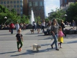 fountain_gal_with_dog_washington_square_park_2014
