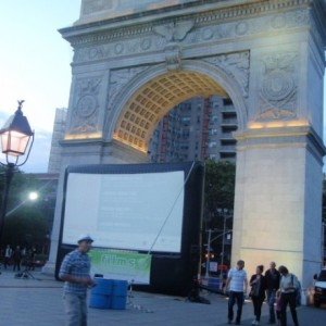 Wonderful French Film Series Returns Under the Arch at Washington Square for Next Two Fridays, June 6 & 13 – And it's Free!