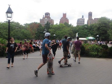 skateboarding_washington_square_park