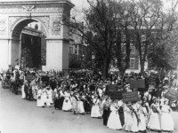 "History of the Washington Square Arch & ""Exitus Acta Probat"""