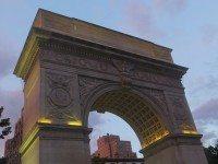 "History of the Washington Square Arch & ""Exitus Acta Probat"""