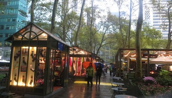 bryant park as mall