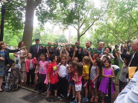 ribbon_cutting_parks_department_washington_square_park