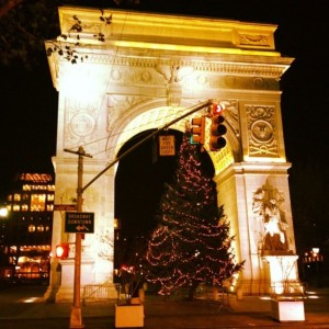 Washington Square Park Christmas Tree Arrives Early Monday; 90th Tree Lighting Ceremony Takes Place Wednesday, December 10th