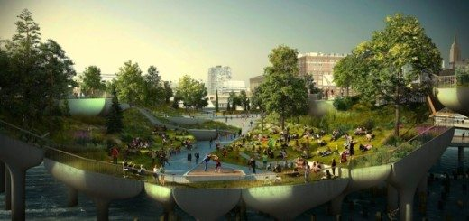 what pier 55 would look like with three performance areas