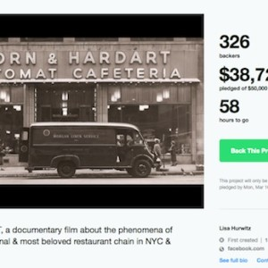 "Help ""The Automat"" Film Become a Reality 