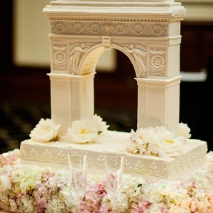 Washington Square's Arch as Wedding Cake