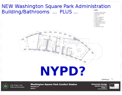 NYPD presence left out of schematic for new Washington Square Park Building