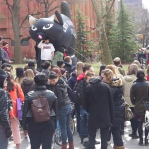 Anti-Street Harassment Rally Washington Square Saturday, April 11th, 2 p.m.