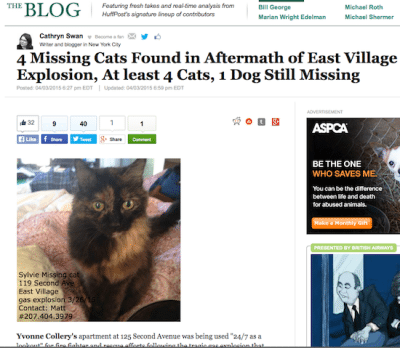 huffington_post_animals_missing_east_village_explosion_screenshot_sylvie