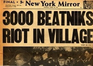 new york mirror beatnik folk riot mass arrests greenwich village