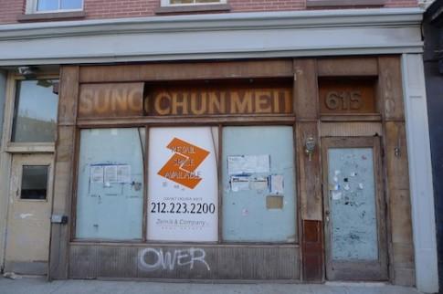 Former Sung Chun Mei 615 Hudson Street Greenwich Village
