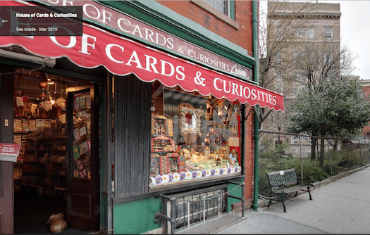 House of Cards & Curiosities West Village Closing