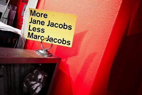 More Jane Jacobs Less Marc Jacobs Greenwich Village