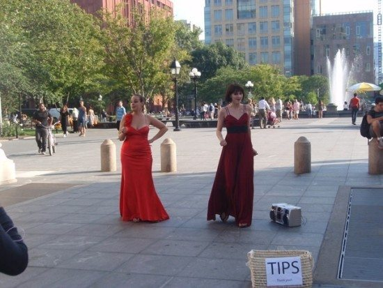opera under the arch washington square park
