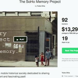 Creating Mobile Historical Society for SoHo – Make it Happen!