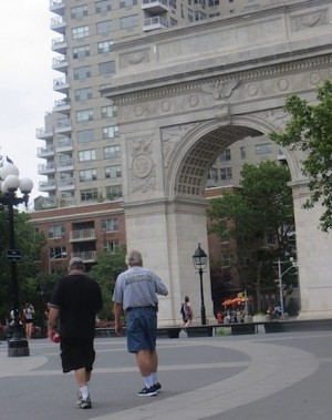 two-men-overheard-by-the-Arch-washington-square-park