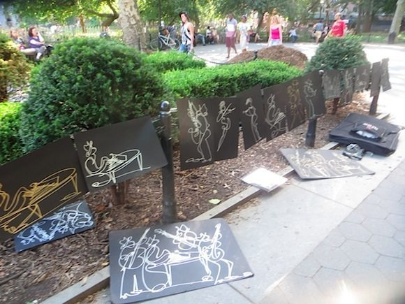 artist-washington-square-park-summer