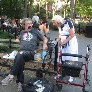 Summer Weekend Washington Square (Post pigeon-abduction …)