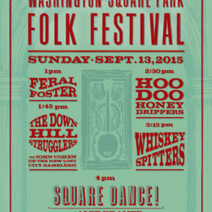 Washington Square Folk Festival Returns to Park for Year 5 on Sunday, September 13th