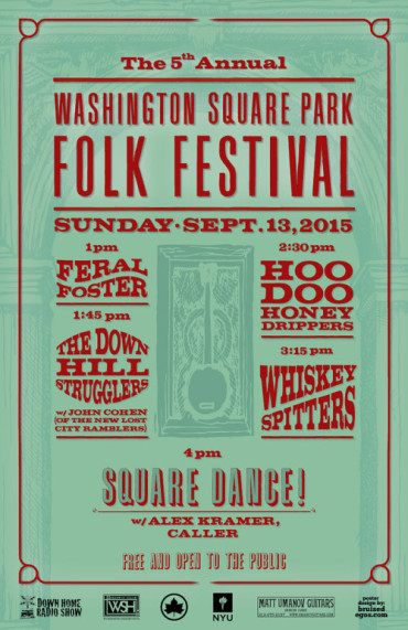 washington square folk festival